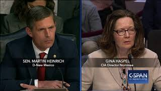Word for Word: CIA Director Nominee Questioned on Enhanced Interrogation (C-SPAN)