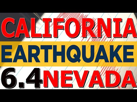 6.4 Earthquake in Nevada Desert Felt in California