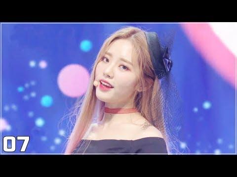 프로미스나인(Fromis_9) - Love Bomb(럽밤) 교차편집(Stage Mix)