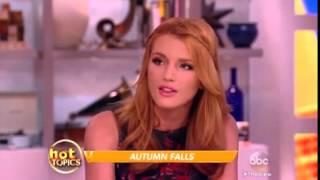 Bella Thorne talks new book Autum Falls...