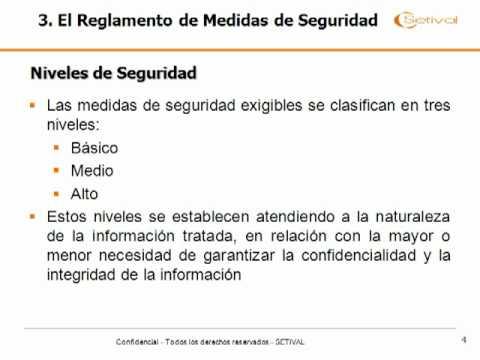 Ley Orgánica de Protección de Datos y RD 1720/2007 (Tecnico)
