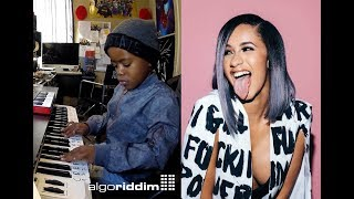 Cardi B - Be Careful Beat Creation By 6 Year Old DJ Arch Jnr Using Logic Pro