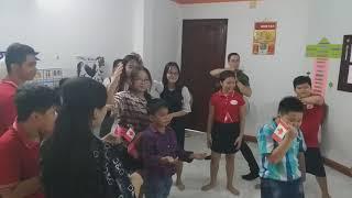 Prinberk Academy An Suong - play game dance and freeze