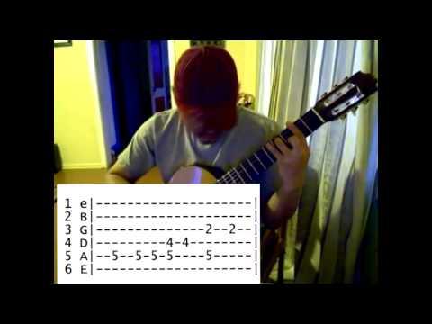 Sonidos del Silencio TAB guitarra sola - Jose