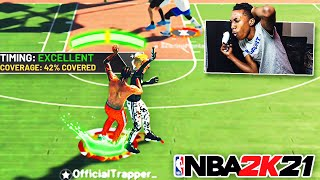 HEAVILY CONTESTED GREENS W/ The BEST BUILD In NBA 2k21