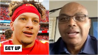 Charles Barkley reacts to Patrick Mahomes' No. 4 ranking on the NFL's top 100 list | Get Up