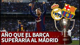 El año en el que el Barcelona tendría más Ligas que el Real Madrid   Diario As