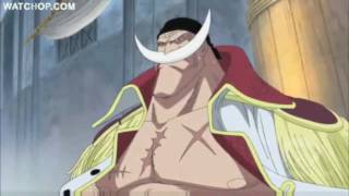 Whitebeard Pirates invade to the plaza