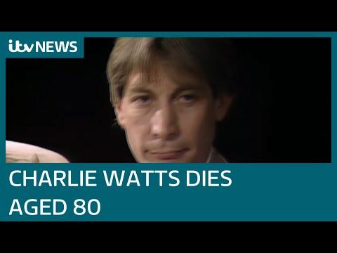 Rolling Stones drummer Charlie Watts dies at 80| ITV News
