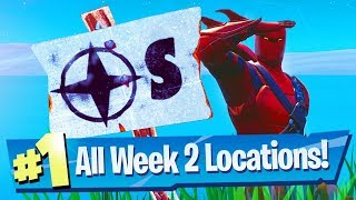 Visit Furthest North, South, East and West Locations (Fortnite Season 8 Week 2 Challenge)