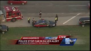 Police stop car in Silver Alert