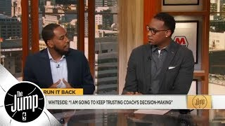 Tracy McGrady and Amin Elhassan: Hassan Whiteside needs to give more effort | The Jump | ESPN