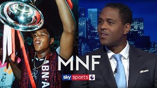 Does Patrick Kluivert think 1995 Ajax are the greatest European club of all-time? | MNF