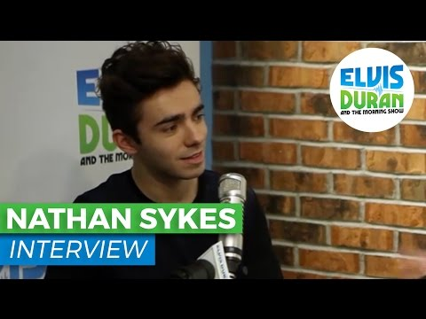Nathan Sykes Talks About His Surgery and His Debut Album | Elvis Duran Show
