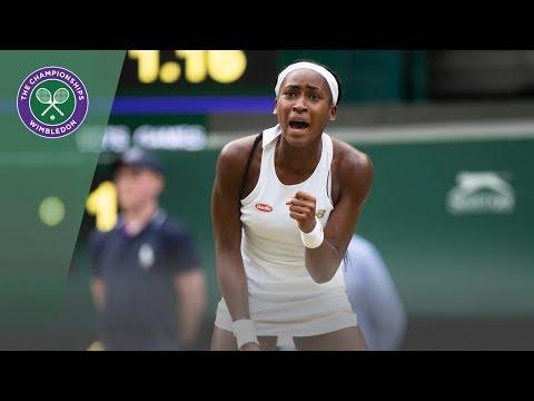 Polona Hercog vs Cori Gauff Wimbledon 2019 Third Round Highlights
