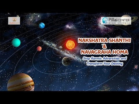 Special Grand Group Nakshatra Shanthi and Navagraha Homa on July 1/2 - 7.30 AM IST