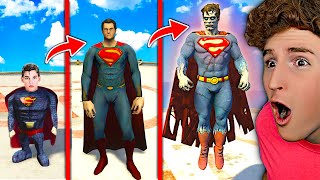 Upgrading SUPERMAN Into SUPER GOD! (GTA 5 Mods)
