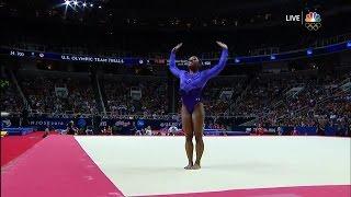 Simone Biles' floor routine is incredible