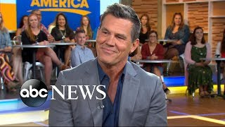 Josh Brolin on 'Sicario 2,' stepmom Barbra Streisand becoming a grandma