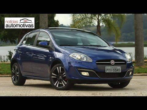 Novo Fiat Bravo T-JET 2016 - NoticiasAutomotivas.com.br
