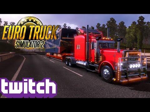Euro Truck Simulator 2: Big Pete Pullin' 63T!