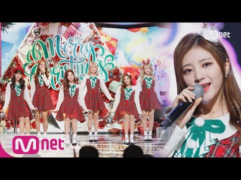 [LABOUM - Merry Christmas in Advance (IU) ] Special Stage | M COUNTDOWN 161222 EP.504