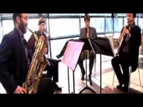 mozart kv 421, Aurelia Saxophone Quartet