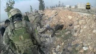 Đặc Nhiệm Nga Trực Tiếp Diệt Khủng Bố Tại Syria