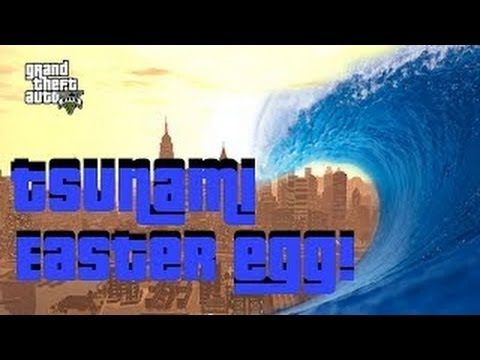 GTA 5 Online Tsunami Easter Egg - Tidal Wave Kills 200,000 - Hints To Weather DLC - Hurricanes - Smashpipe Games