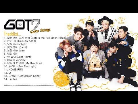 GOT7 CUTE SONGS || รวมเพลงน่ารัก เพราะๆ ฟังสบายของ GOT7