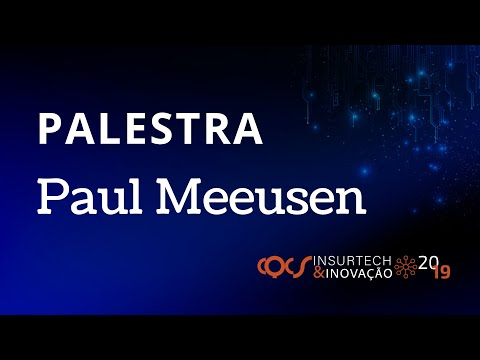 Imagem post: Palestra Paul Meeusen