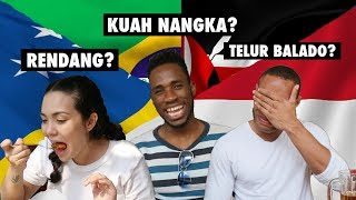 FOREIGNERS TRY MINANGNESE FOOD