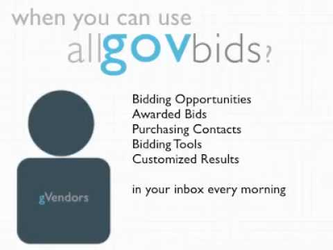 Government Vendor Tour