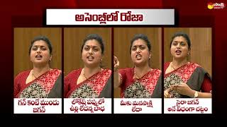Watch: Roja punch dialogues in AP Assembly..