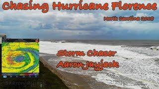 Chasing Hurricane Florence: Storm Chaser Aaron Jayjack
