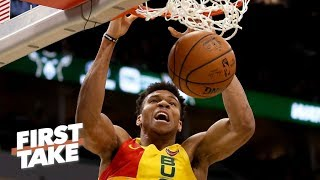 Giannis Antetokounmpo has become as dominant as Shaq - Max Kellerman | First Take