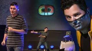Captain Disillusion: Heroic Feats of YouTube Debunkery - Live at QED 2016