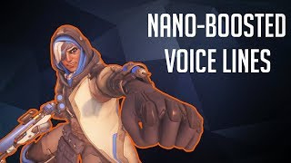 Nano-Boosted Voice Lines [Overwatch]