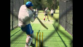 Local Cricket Skipper -  In The Nets