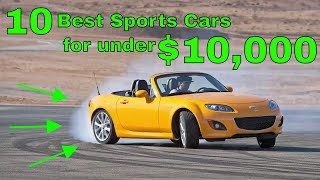 10 Sports cars under $10,000