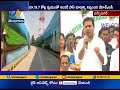 KTR inaugurates Hyd's New Underpass Road at LB Nagar
