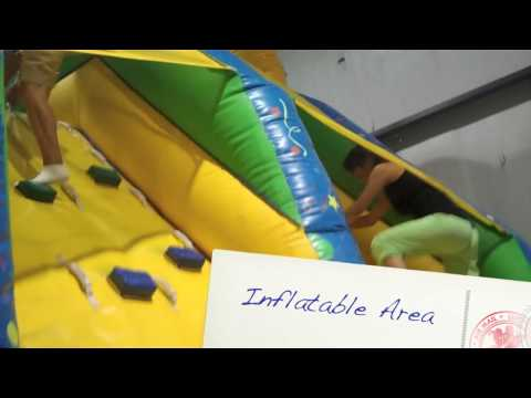 Betances Tours: Ozzy's Fun Center Inflatable Area