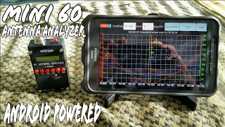 EU1KY antenna analyzer v3 with code mods by DH1AKF and my