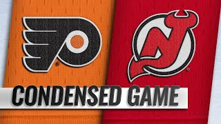 01/12/19 Condensed Game: Flyers @ Devils