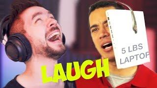 THE HARDEST I'VE EVER LAUGHED | Jacksepticeye's Funniest Home Videos #11