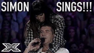 Judges CAN'T WATCH This X Factor Audition So SIMON COWELL Shows Them How It's Done | X Factor Global
