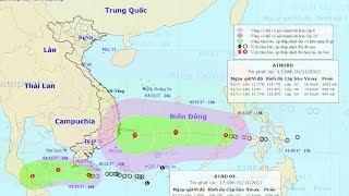 Tin Áp Thấp Mới Nhất : Tin áp thấp nhiệt đới gần bờ và tin áp thấp nhiệt đới trên Biển Đông
