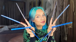 I tried living with LITERALLY the worlds longest Nails for a day (8 INCHES)
