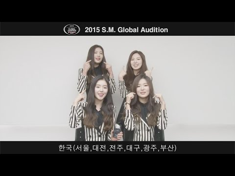 2015 S.M. GLOBAL AUDITION 'RED VELVET MESSAGE'