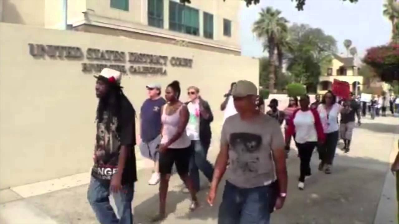 INLAND: Hundreds Join Trayvon Martin Rallies - Smashpipe News Video